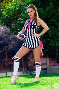 Lenna Decker голая футболистка из команды Playboy