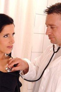Неожиданный секс на приёме у врача