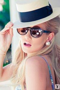Секси блондинка из Playboy Gabi (Габи)