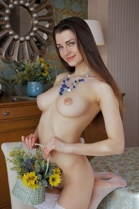 Красивые голые сиськи